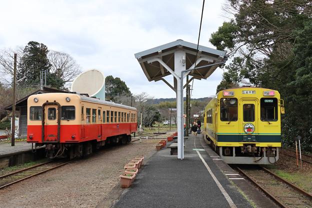 小湊鉄道からいすみ鉄道に乗り換え