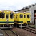 Photos: 大多喜駅で列車の交換