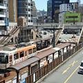 Photos: 長崎市電1500形@長崎駅前