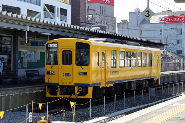島原鉄道キハ2500形@諫早駅