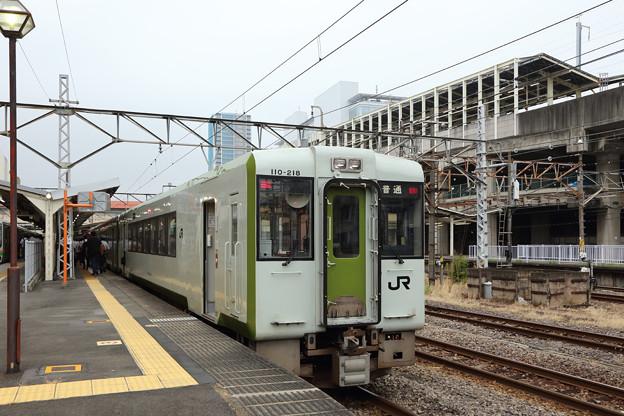 キハ110@高崎駅