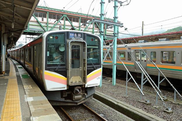 長岡行きE129系