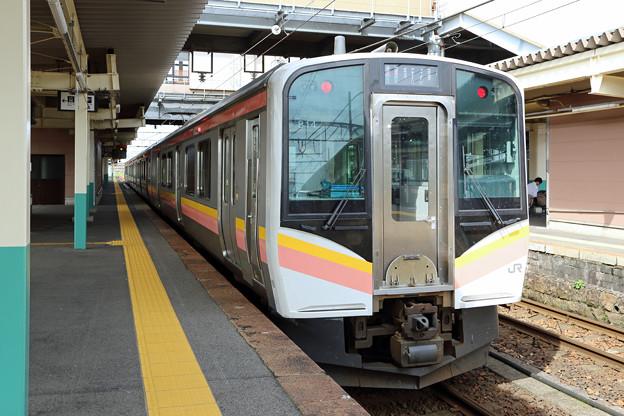 E129系@新津駅
