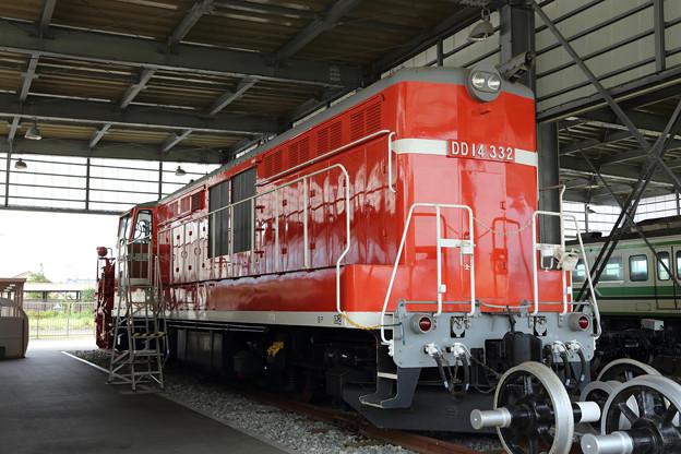 DD14@新津鉄道資料館