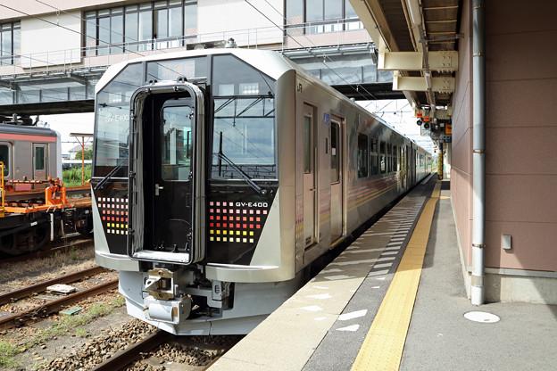 GV-E400試運転@新津駅