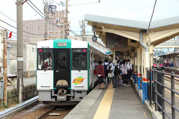 キハ112奥の細道@酒田駅