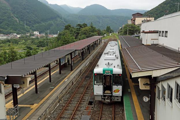 キハ111@鳴子温泉駅
