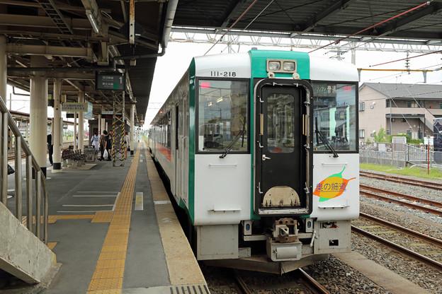 キハ111@小牛田駅