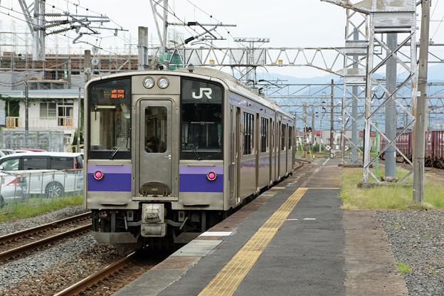 701系盛岡行き@一ノ関駅