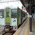 Photos: 気仙沼行きキハ100@一ノ関駅
