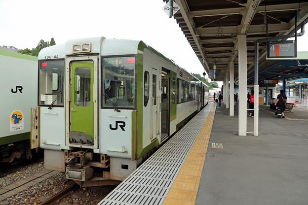 キハ100@気仙沼駅