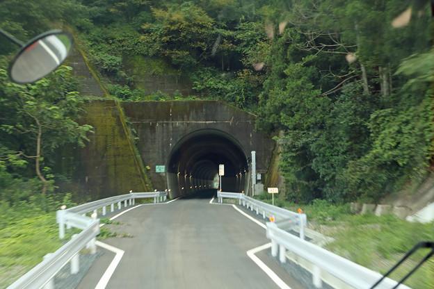 BRT気仙沼線のトンネル