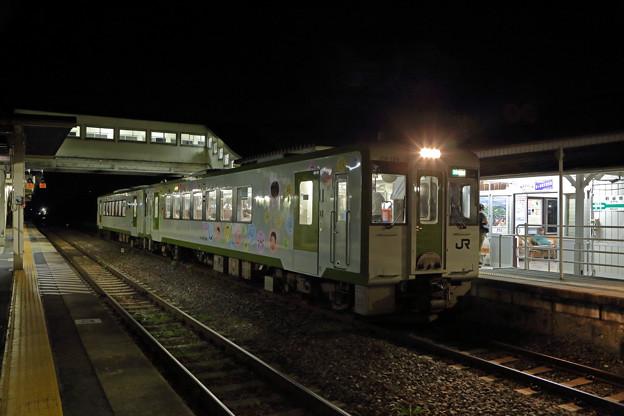 キハ110@前谷地駅
