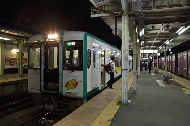 キハ110@石巻駅