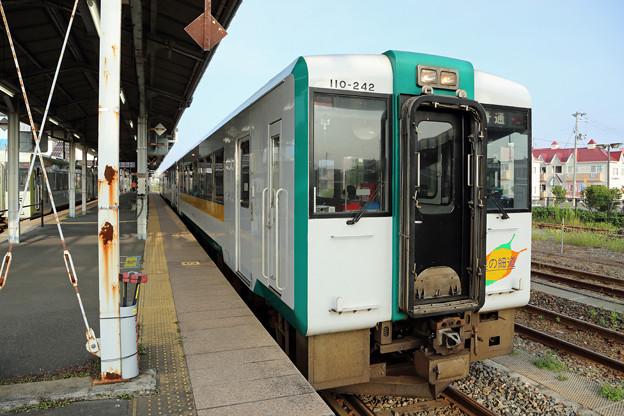 キハ110@石巻駅(女川行き)