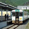 キハ110@女川駅