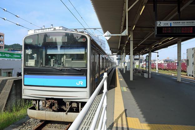 205系@石巻駅