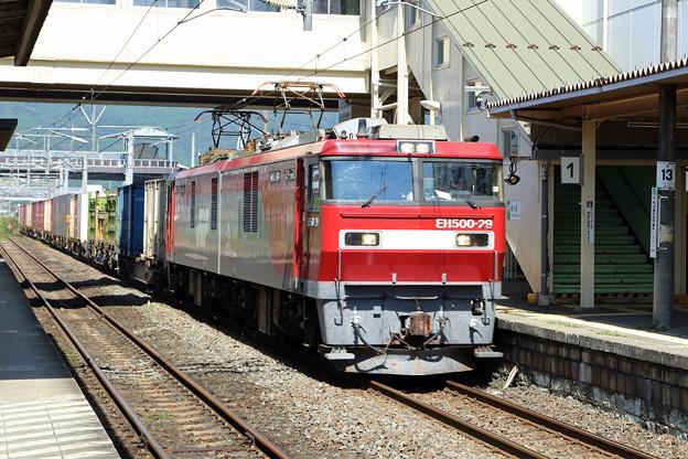 EH500@槻木駅