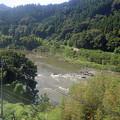 Photos: 阿武隈急行の車窓・・阿武隈川