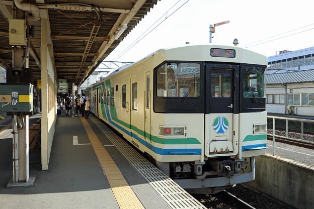 阿武隈急行8100系@福島駅
