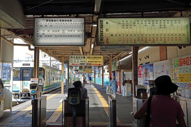 福島交通飯坂線の乗り場はどこ!?