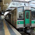 Photos: 新白河行き701系@福島駅