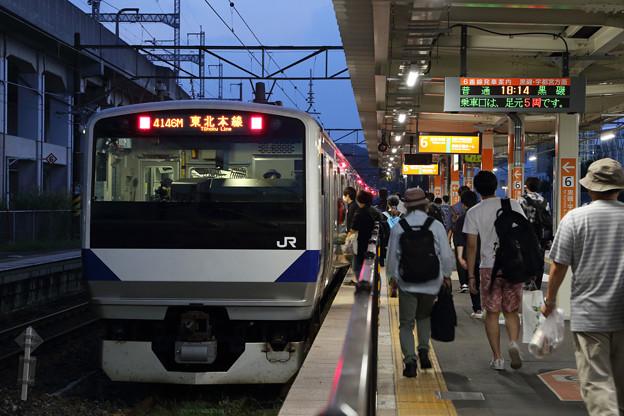 E531系@新白河駅