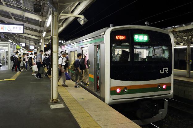 205系@黒磯駅