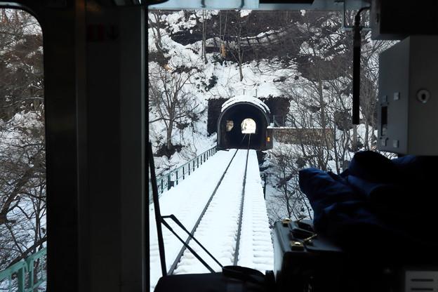 Photos: 雪の米坂線