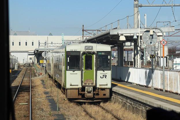 キハ110@米沢駅