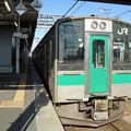 奥羽本線701系@米沢駅