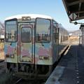 山形鉄道YR-880@赤湯駅
