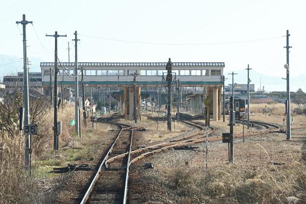 今泉駅(山形鉄道、JR米坂線)