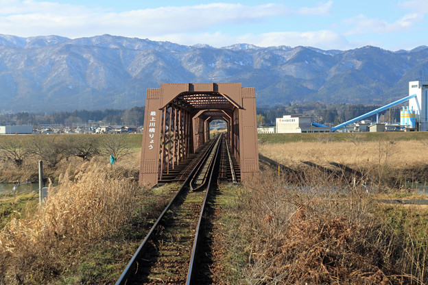 最上川橋りょう@フラワー長井線