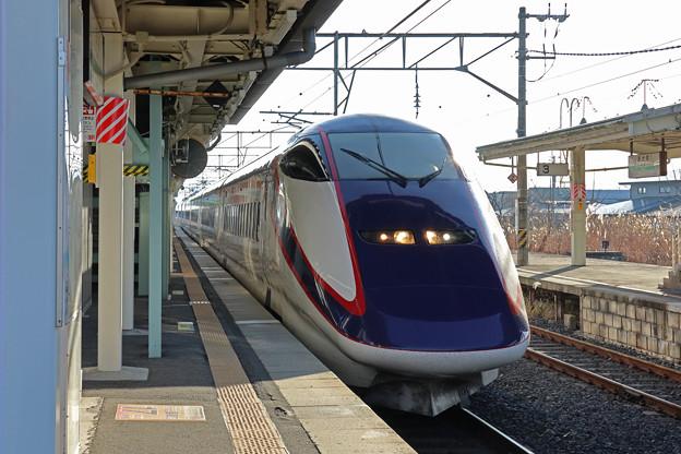 山形新幹線つばさ@赤湯駅