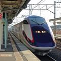 Photos: 山形新幹線つばさ@赤湯駅