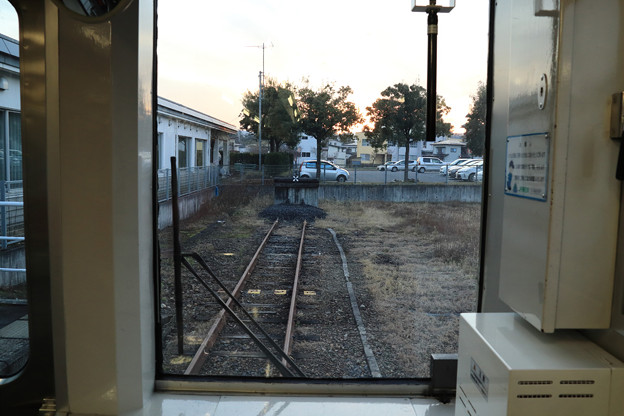 Photos: どん詰まりの左沢駅