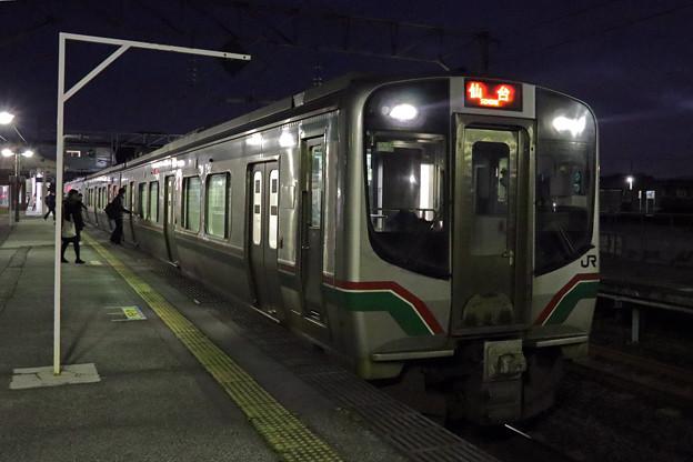 仙石線E721系@北山形駅