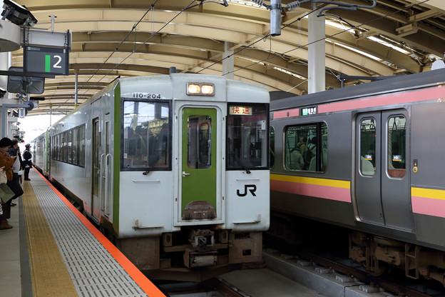 キハ110@新潟駅