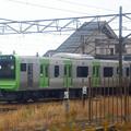 新津駅のE235系