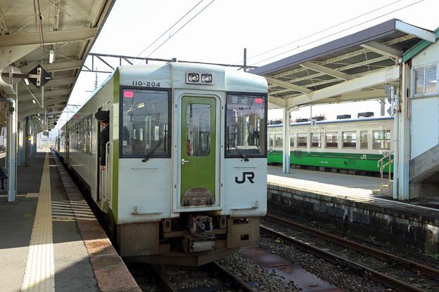 キハ110@喜多方駅