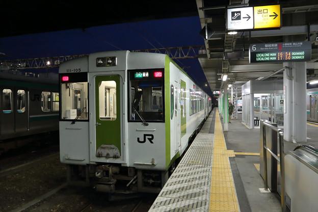 磐越東線キハ111@いわき駅