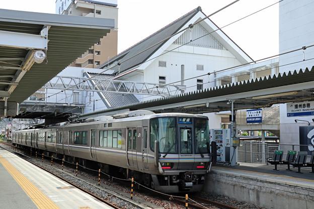 223系@播州赤穂駅