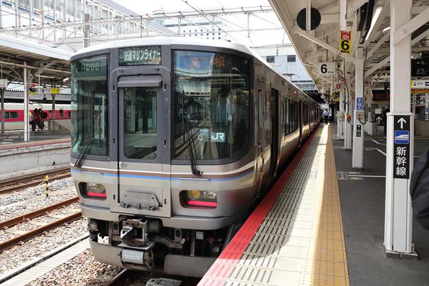 快速マリンライナー(JR西日本223系)