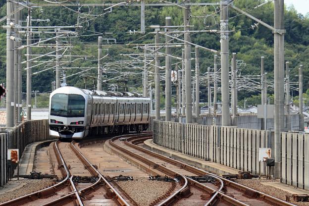 マリンライナー5000系@坂出駅