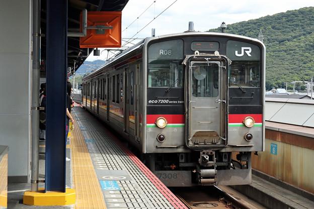 JR四国7200系@坂出駅