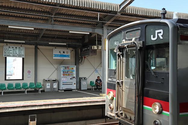 JR四国7200系@丸亀駅