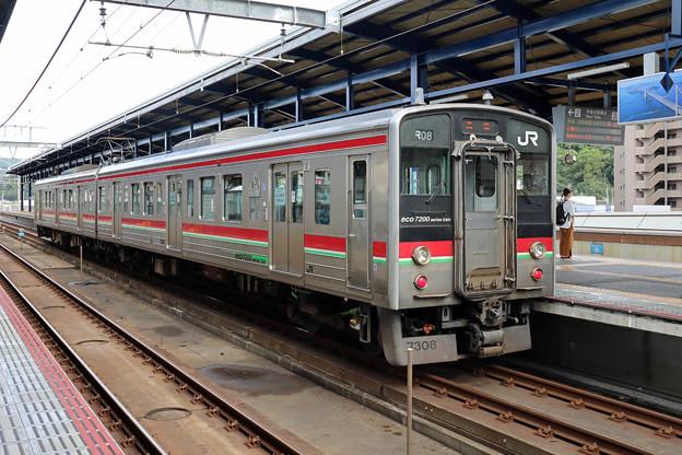 JR四国7200系@坂出駅ふたたび