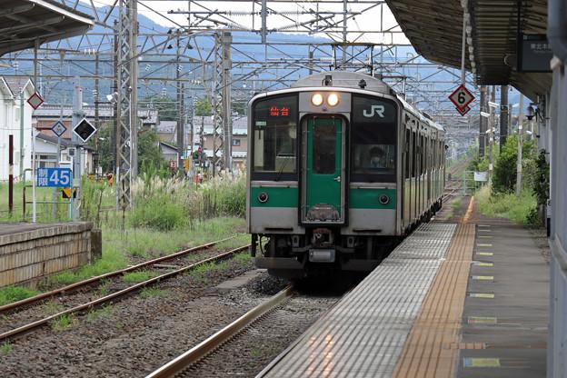 701系1500番台@白石駅