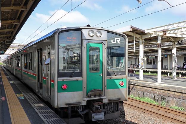 701系1500番台@岩沼駅